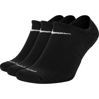 Unisex Everyday Plush Cushioned No-Show Sock (3 Pack)