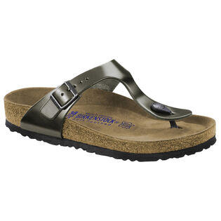 Women's Metallic Gizeh Sandal