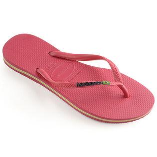 8148321d3 Women s Slim Brazil Flip Flop Sandal ...