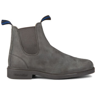 #1392 The Winter Chisel Toe Boot In Rustic Black