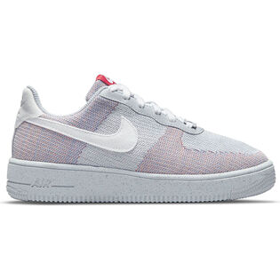 Juniors' [3.5-7] Air Force 1 Crater Flyknit Shoe