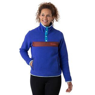 Women's Teca Fleece Pullover Top