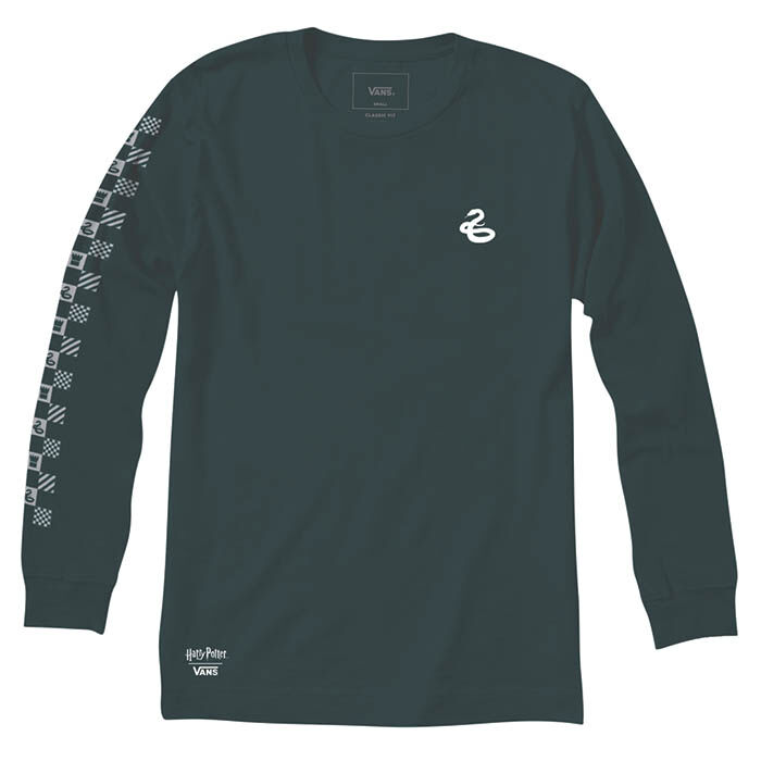 Men's Slytherin Long Sleeve T-Shirt
