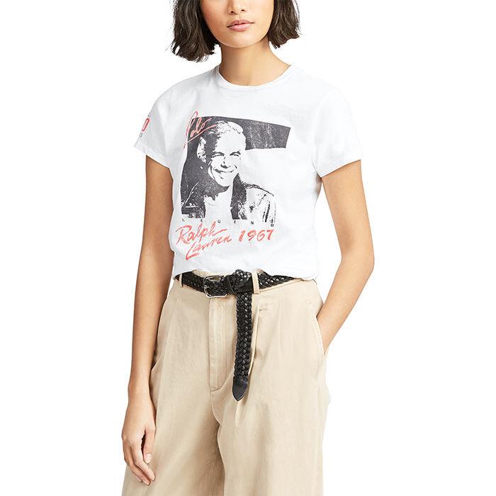T-shirt en jersey illustré pour femmes