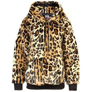Women's Lined Faux Fur Hoodie
