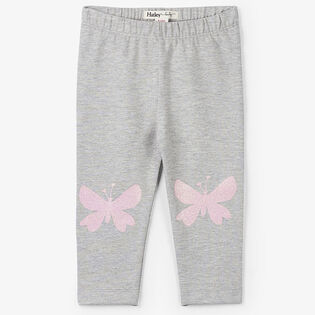 Baby Girls' [3-24M] Glitter Butterflies Legging