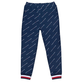 Junior Girls' [7-16] French Terry Logo Pant