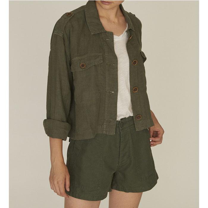 Veste style militaire With Honor Corp pour femmes