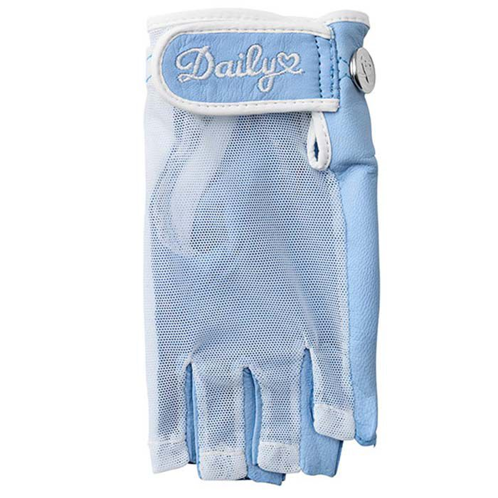 Women's Half Finger Sun Glove (Left Hand)