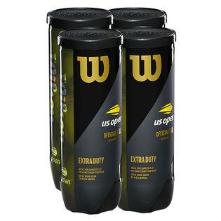 Balles de tennis US Open Extra Duty paquet de 4