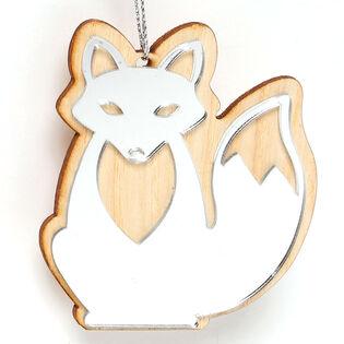 Mirror Fox Ornament