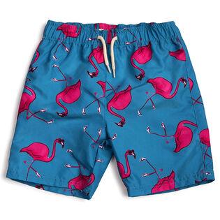 Boys' [2-7] Flamingo Swim Trunk