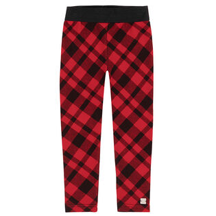 Girls' [3-6] Plaid Legging