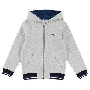Junior Boys' [4-16] Basic Fleece Hoodie