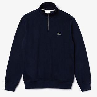Men's Zippered Stand-Up Collar Sweatshirt