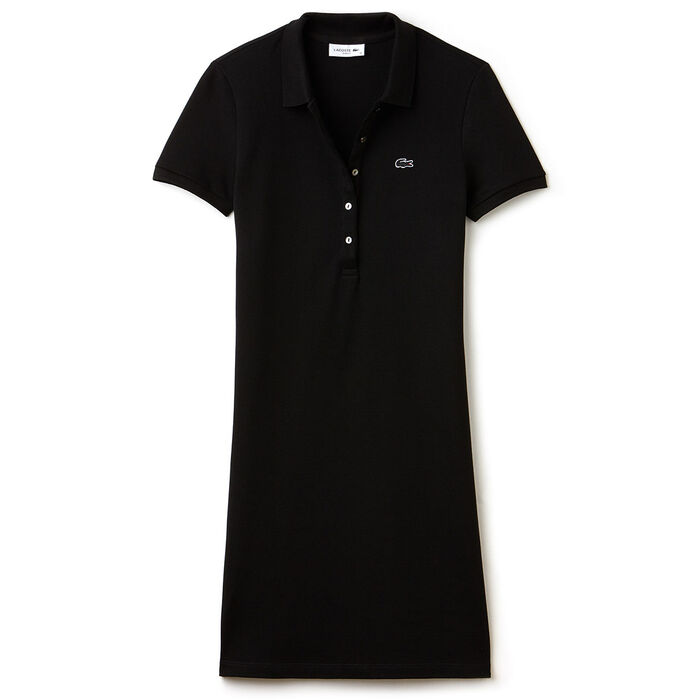 Women's Stretch Mini Pique Polo Dress