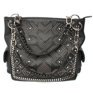 Women's Western Stud And Rhinestone Purse