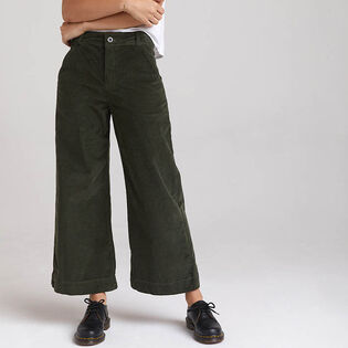 Women's Wide Leg Crop Pant