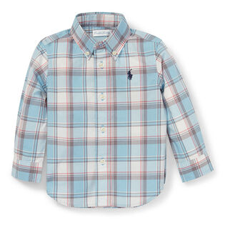 Baby Boys' [9-24M] Plaid Cotton Poplin Shirt