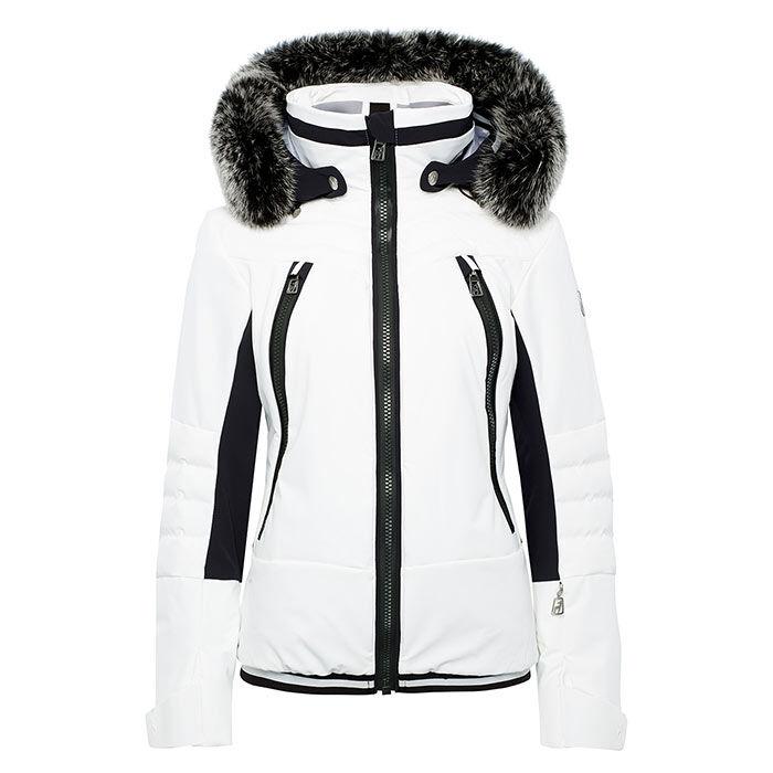 Manteau Cosima avec fourrure pour femmes