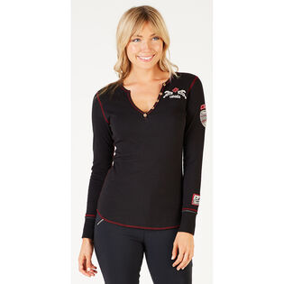 Women's Canadian Cabin Henley Top