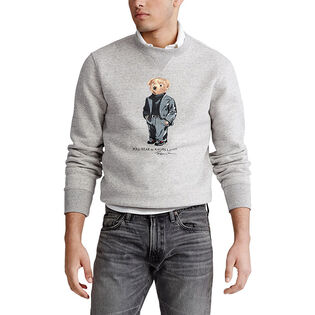 Men's Suit Bear Fleece Sweatshirt
