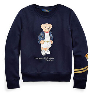 Junior Girls' [7-16] Blazer Bear Terry Pullover Sweatshirt