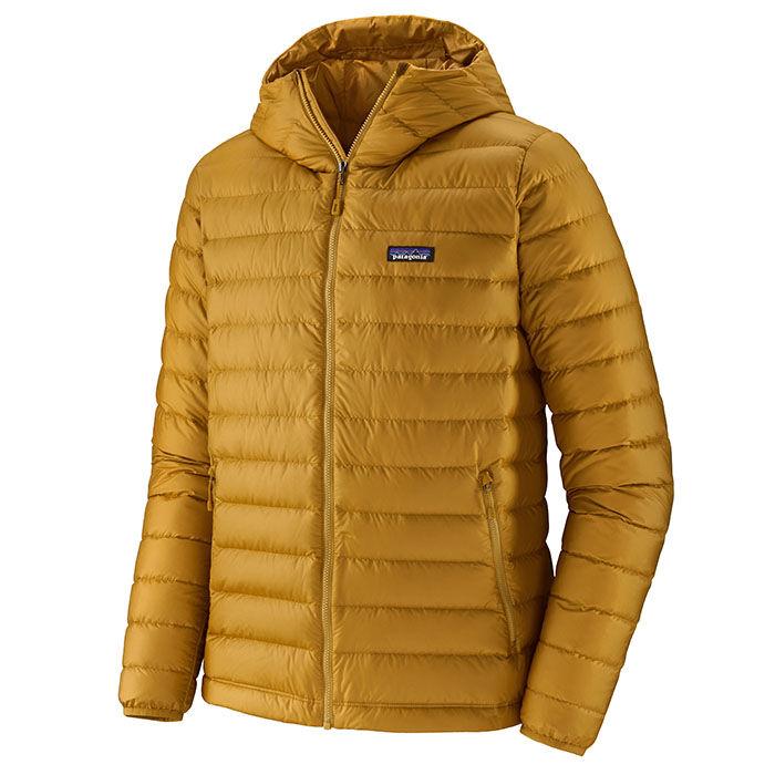Manteau à capuchon en duvet pour hommes