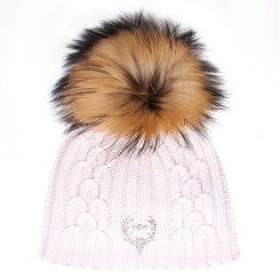 Women's Cashmere Pom Hat