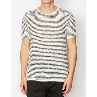 Men's Adrian Nervous Stripe Crew T-Shirt