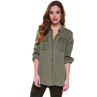 Women's Roll-Up Sleeve Shirt