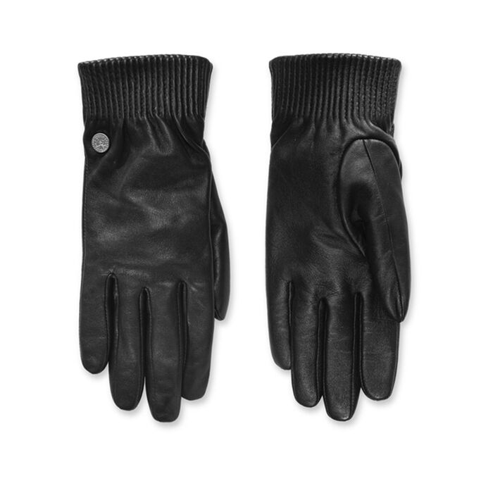 Women's Leather Rib Glove