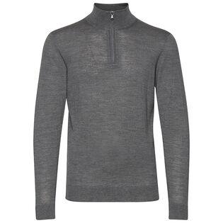 Men's Mock Quarter-Zip Sweater