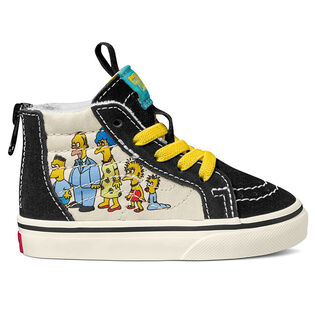 Babies' [6-10] The Simpsons Sk8-Hi Zip Shoe