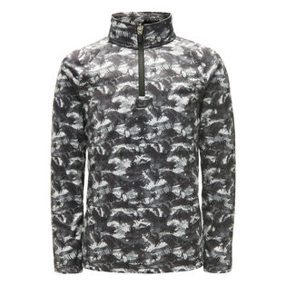 Boys' [2-7] Mini Limitless Bug Camo Zip Turtleneck Top