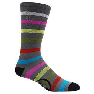 Men's Multi Stripe Crew Sock