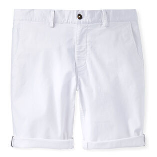 Men's Flat Front Chino Short