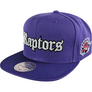 Men's Toronto Raptors Old English Faded Snapback Hat