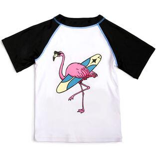 Boys' [2-7] Flamingo Rashguard