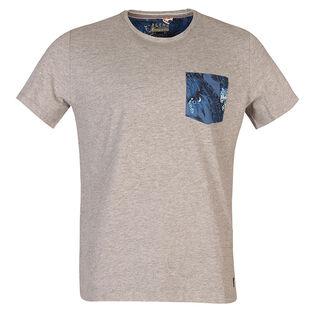 T-shirt avec poche à motif pour hommes