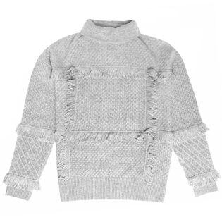 Women's Paisli Fringe Sweater
