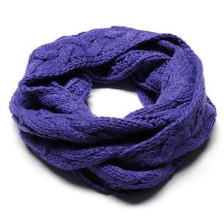 Foulard infini en tricot maille torsadées pour filles