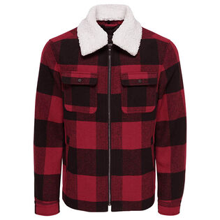 Men's Short Checked Jacket