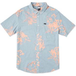 Men's Sage Vaughn Linear Button-Up Shirt