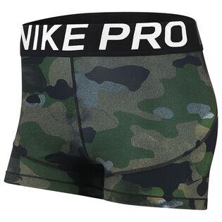 """Women's Pro 3"""" Camo Short"""