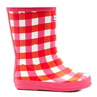 Kids' [7-13] Original First Classic Gingham Rain Boot
