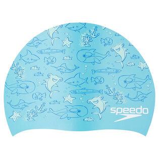 Kids' Elastomeric Printed Cap