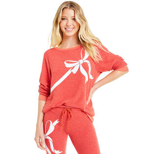 Women's Gift Wrapped Baggy Beach Sweater