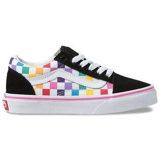 Kids' [11-4] Checkerboard Old Skool Shoe