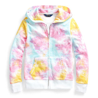 Junior Girls' [7-16] Tie-Dye Terry Hoodie